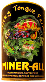 Miner-all Vitamins and Minerals for Exotic Pets